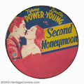 Movie Posters:Comedy, Second Honeymoon (20th Century Fox, 1937). Spare Tire Cover.Throughout the thirties the studios would offer in their pressb...
