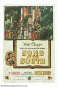 "Movie Posters:Animated, Song of the South (RKO, 1946). One Sheet (27"" X 41""). Based uponthe writings of Joel Chandler Harris, this Disney classic h..."