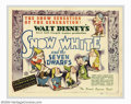 """Movie Posters:Animated, Snow White and the Seven Dwarfs (RKO, 1937). Lobby Card Set (8)(11"""" X 14""""). Offered here is a complete eight card set to th...(Total: 8 Movie Posters Item)"""
