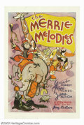 "Movie Posters:Animated, Merrie Melodies (Warner Brothers, 1933). One Sheet (27"" X 41"").Warner Brothers released stock posters for their cartoons fr..."