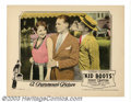 "Movie Posters:Comedy, Kid Boots (Paramount, 1926). (2) Lobby Cards (11"" X14""). ZiegfeldFollies star Eddie ""Banjo Eyes"" Cantor made his film debut...(Total: 2 Movie Posters Item)"