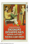 """Movie Posters:Short Subject, Snookums Disappears (Universal, 1927). One Sheet (27"""" X 41"""").During the latter part of the 1920's and the early 1930's Univ..."""