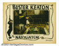 "Movie Posters:Comedy, Navigator, The (Metro Goldwyn Picture, 1924). Lobby Card (11"" X 14""). At the request of his star Buster Keaton, producer Joe..."