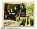 "Movie Posters:Comedy, Sally of the Sawdust (Paramount, 1925). Lobby Card (11"" X 14"").Legendary filmmaker D.W. Griffith's silent comedy was the fi..."