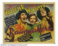 "Movie Posters:Comedy, Rainmakers, The (RKO, 1935). Half Sheet (22"" X 28""). The comedyteam of Bert Wheeler and Robert Woolsey star as professional..."