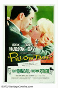 "Movie Posters:Comedy, Pillow Talk (Universal, 1959). One Sheet (27"" X 41""). Doris Day's wholesome image played perfectly against Rock Hudson's sua..."