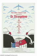 "Movie Posters:Comedy, Dr. Strangelove or: How I Learned to Stop Worrying and Love theBomb. (Columbia, 1964). One Sheet (27"" X 41""). During the he..."