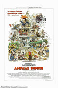 "Movie Posters:Comedy, Animal House (Universal, 1978). One Sheet (27"" X 41""). Director John Landis led John Belushi in his breakout role as the boy..."