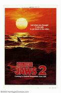 "Movie Posters:Horror, Jaws 2 (Universal, 1978). One Sheet (27"" X 41""). Style B. Perhaps one of the greatest if not the most oft-quoted tag-line in..."