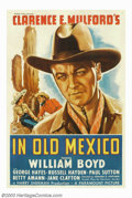 "Movie Posters:Western, In Old Mexico (Paramount, 1938). One Sheet (27"" X 41""). WilliamBoyd was ""Hopalong Cassidy"" for 66 pictures from 1935 to 194..."