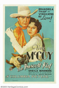 "Movie Posters:Western, Prescott Kid, The (Columbia, 1934). One Sheet (27"" X 41""). By theearly thirties, Tim McCoy was one of Columbia's biggest we..."