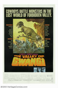 "Movie Posters:Science Fiction, Valley of the Gwangi (Warner Brothers, 1969). One Sheet (27"" X 41""). Based on the ""King Kong"" story by Willis O'Brien and fe..."