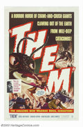 """Movie Posters:Science Fiction, Them (Warner Brothers, 1954). One Sheet (27"""" X 41""""). Cold War-era sci-fi film directed by Gordon Douglas and starring James ..."""