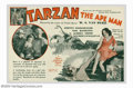 "Movie Posters:Adventure, Tarzan the Ape Man (MGM, 1932). Herald (5 3/4"" X 8 3/4""). JohnnyWeissmuller, a 28 year old Olympic gold medalist made his d..."