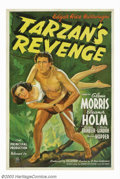 Movie Posters:Action, Tarzan's Revenge (20th Century Fox, 1938). This was Olympic Decathlon star Glenn Morris' first and last attempt to dethrone ...