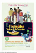 "Movie Posters:Animated, Yellow Submarine (United Artists, 1968). One Sheet (27"" X 41""). TheBeatles take on the evil blue meanies in this pop-art an..."
