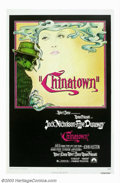 "Movie Posters:Film Noir, Chinatown (Paramount, 1974). One Sheet (27"" X 41""). Roman Polanski's stylish homage to film noir boasts wonderful visuals as..."