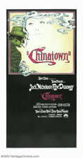 "Movie Posters:Film Noir, Chinatown (Paramount, 1974). Three Sheet (41"" X 81""). Richard Amselart graces this large poster for the Roman Polanski clas..."