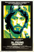 """Movie Posters:Drama, Serpico (Columbia, 1974). One Sheet (27"""" X 41""""). Al Pacino stars in a true story about an honest New York cop who blew the w..."""