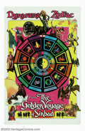 """Movie Posters:Fantasy, Golden Voyage of Sinbad, The (Columbia, 1973). (2) One Sheets (27"""" X 41""""). John Philip Law is Sinbad in this outing and face... (Total: 2 Movie Posters Item)"""