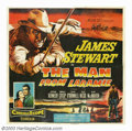 "Movie Posters:Western, Man From Laramie (Columbia, 1955). Six Sheet (81"" X 81""). AnthonyMann directed this brilliant psychological western that st..."