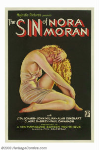 Sin of Nora Moran (Majestic Pictures, 1933). Zita Johann was a Hungarian born actress who made her screen debut in D. W...