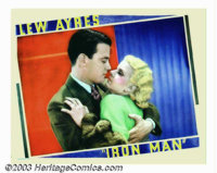"""Iron Man (Universal, 1931). Lobby Card (11"""" X 14""""). Todd Browning of """"Dracula"""" fame directs this pri..."""