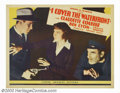 """Movie Posters:Drama, I Cover the Waterfront (United Artists, 1933). Half Sheet (22"""" X 28""""). Romantic melodrama about a tough reporter who exploit..."""