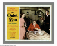 """The Quiet Man (Republic, 1950). Lobby Cards (4) (11"""" X 14""""). Of all of his films John Ford directed his person..."""