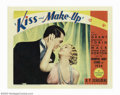 "Movie Posters:Comedy, Kiss and Make-Up (Paramount, 1934). Lobby Card (11"" X 14""). CaryGrant stars as a world famous, egotistical, plastic surgeon..."