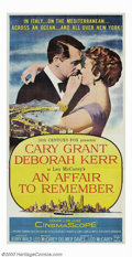 """Movie Posters:Romance, Affair to Remember, An (20th Century Fox, 1957). Three Sheet (41"""" X 81""""). Cary Grant and Deborah Kerr star in this classic r..."""