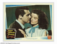 """Philadelphia Story, The (MGM, 1940). (2) Lobby Cards (11"""" X 14""""). Katherine Hepburn was on the run from Hollyw..."""