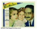 "Movie Posters:Comedy, Little Miss Marker (Paramount). Lobby Card (11"" X 14""). During the early 1930s Fox Studio was on the verge of bankruptcy, an..."