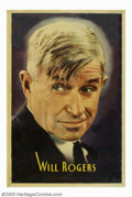 "Movie Posters:Comedy, Will Rogers Portrait (Fox, 1934). 40"" X 60"" Personality PortraitPoster. Will Rogers was one of Fox Studio's brightest stars..."