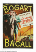 "Movie Posters:Film Noir, Dark Passage (Warner Brothers, 1958). Spanish One Sheet (28.5"" X40.5""). Humphrey Bogart stars as an escaped convict who hid..."