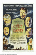 "Movie Posters:Comedy, Comedy of Terror (American International, 1964). One Sheet (27"" X41""). On the verge of bankruptcy, undertaker Vincent Price..."