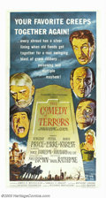 "Movie Posters:Comedy, Comedy of Terror (American International, 1964). Three Sheet (41"" X81""). Undertaker Vincent Price is on the verge of bankru..."