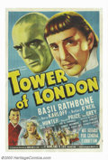 "Movie Posters:Horror, Tower of London (Universal, 1939). Australian One Sheet (27"" X 40""). Historical melodrama, based on Tudor history, about the..."