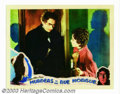 """Movie Posters:Horror, Murders in the Rue Morgue (Universal, 1932). Lobby Card (11"""" X 14""""). Bela Lugosi visits Sidney Fox in her apartment prior to..."""