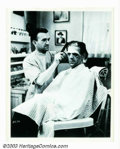 """Movie Posters:Horror, Frankenstein Still (Universal, 1931). 8"""" X 10"""". This original stillgives a view into the famous Universal make-up man Jack ..."""