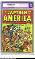 Golden Age (1938-1955):Superhero, Captain America Comics #5 (Timely, 1941) CGC Apparent FN+ 6.5 Slight (A) Off-white to white pages. Jack Kirby makes no bones...
