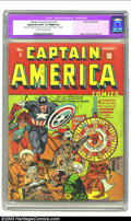 Golden Age (1938-1955):Superhero, Captain America Comics #5 (Timely, 1941) CGC Apparent GD/VG 3.0 Slight (A) Cream off-white pages. Probably the most bizarre ...