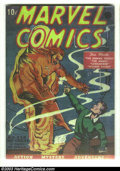 Golden Age (1938-1955):Superhero, Marvel Comics #1 (Timely, 1939) Condition: Coverless. This, along with Motion Picture Funnies Weekly ushered in the Time...