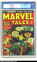 Golden Age (1938-1955):Horror, Marvel Tales #101 Bethlehem pedigree (Marvel, 1951) CGC VF+ 8.5Cream to off-white pages. Here is a fairly early issue in th...