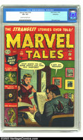 Golden Age (1938-1955):Horror, Marvel Tales #109 Bethlehem pedigree (Marvel, 1952) CGC VF+ 8.5Cream to off-white pages. This title had a lot of great cove...