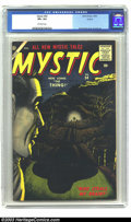 Silver Age (1956-1969):Horror, Mystic #54 Circle 8 pedigree (Atlas, 1956) CGC VF+ 8.5 Off-whitepages. Bill Everett did some of his finest work on the Atla...