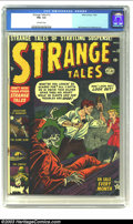 Golden Age (1938-1955):Horror, Strange Tales #12 (Atlas, 1952) CGC FN+ 6.5 Off-white pages.Collectors know how exasperating it is to try putting together ...