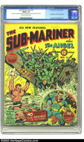 Golden Age (1938-1955):Superhero, Sub-Mariner Comics #1 (Timely, 1941) CGC FN/VF 7.0 Cream to off-white pages. Subby's inaugural issue came about 18 months af...