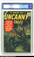 Golden Age (1938-1955):Horror, Uncanny Tales #55 Circle 8 pedigree (Atlas, 1957) CGC VF/NM 9.0Off-white to white pages. Bill Everett on cover art, and int...