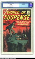 Silver Age (1956-1969):Horror, World of Suspense #6 White Mountain pedigree (Atlas, 1957) CGC VF+8.5 Off-white to white pages. Some of Atlas' short-lived ...